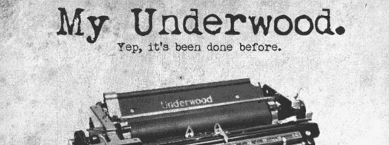 Font Mesin Tik My Underwood